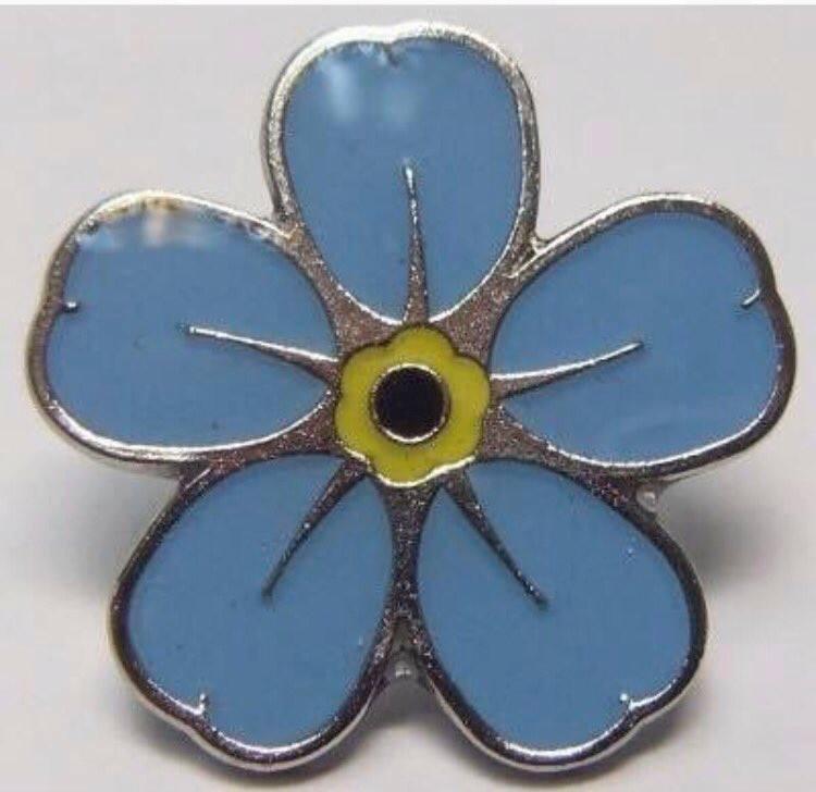 a1553993020 Blue flower badge   Dementia Talking Point