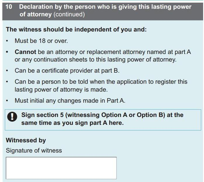 lasting power of attorney queries | Dementia Talking Point